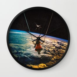 Being Lead Wall Clock