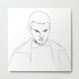 Eleven from ST Metal Print