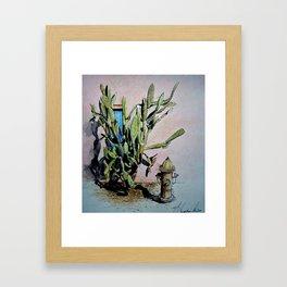 Industrial Nature Framed Art Print