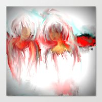 twins Canvas Prints featuring Twins by Jessielee