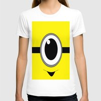 minion T-shirts featuring Evil Minion by shannon's art space