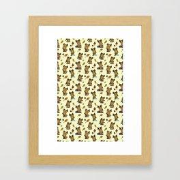 MOOSE CROSSING Framed Art Print