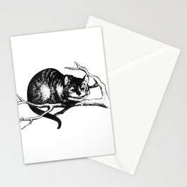 Alice in Illustration C15 Wonderland Cheshire Cat Print Stationery Cards
