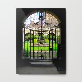 My Secret Garden Metal Print