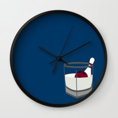 Hey, careful, man, there's a beverage here!  Wall Clock