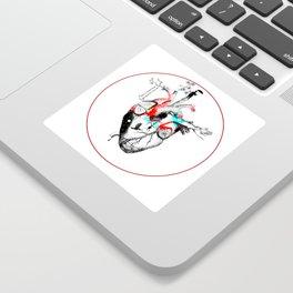 Growing Heart Sticker
