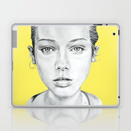 Lady Portrait Laptop & iPad Skin