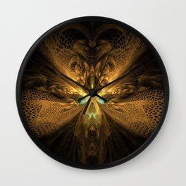 Hive - Designed for leggings Wall Clock