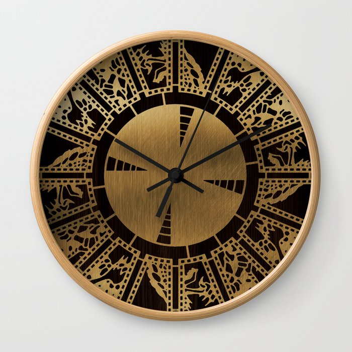 Lament Configuration Side A Wall Clock