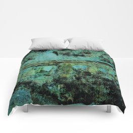 Teal Forest Comforters