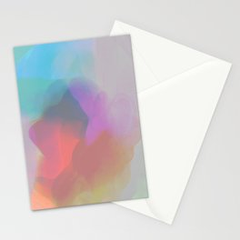 watercolor paint Stationery Cards