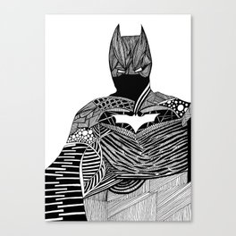 Knight of Night Canvas Print