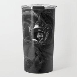 Black And White Crystal Feed Me v.6 Travel Mug