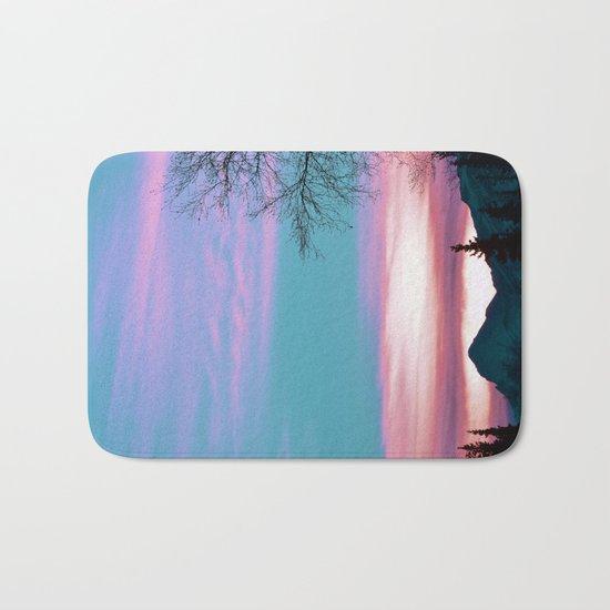 Alaskan Pastel Vibes Bath Mat