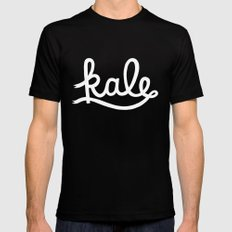 Kale  Mens Fitted Tee 2X-LARGE Black