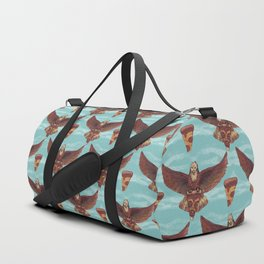 food eagle pizza Duffle Bag