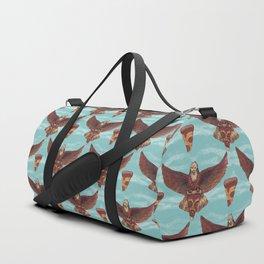 food eagle pizza Duffle Bag