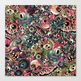 Monster World Canvas Print