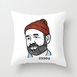 Zissou Throw Pillow