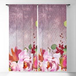 Flowers bouquet 92 Blackout Curtain