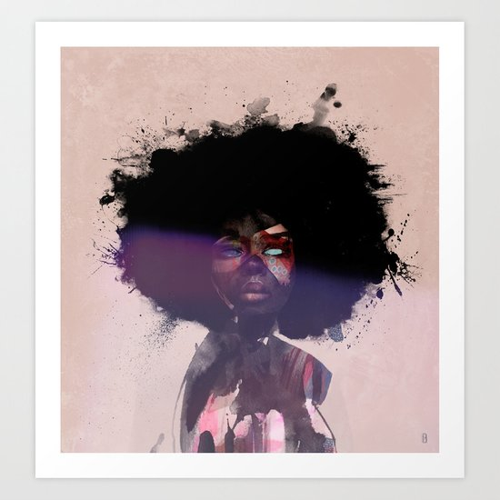 Afro Funk Art Print by Robobop   Society6