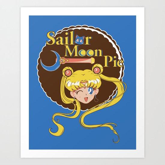Moon Pie Art Print