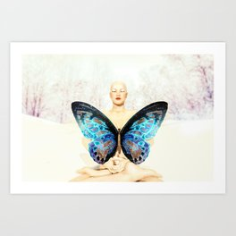 Karma.The Butterfly Effect & Its Cleaning Process Art Print
