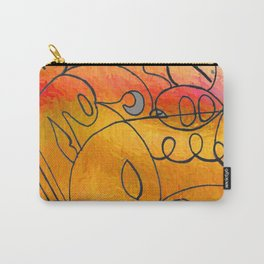 Curves at Sunset Carry-All Pouch
