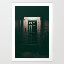 Night Door Art Print