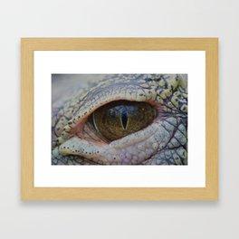 Croc Framed Art Print