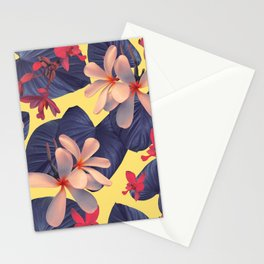 Mixed Tropical Floral Stationery Cards