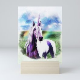 UNICORN Fantasy Art Print Mini Art Print