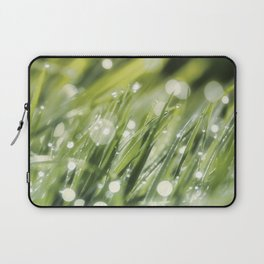 Million lights in the grass Laptop Sleeve
