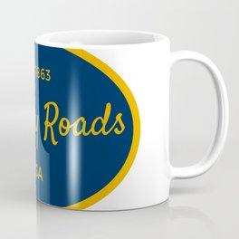 Country Roads West Virginia Vintage Print Coffee Mug