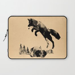 The quick brown fox jumps over the lazy dog Laptop Sleeve