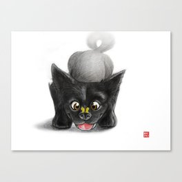 Woof! Canvas Print