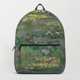 Le Bassin des Nympheas Backpack