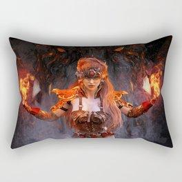 Dragon War Rectangular Pillow