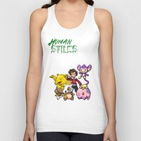 stiles Tank Tops featuring PokeWolf: Stiles Stilinski by Trickwolves