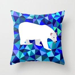 Polar Bear Throw Pillow