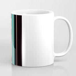 Divided Floral  Coffee Mug