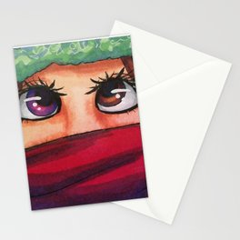 Winter Eyes Stationery Cards
