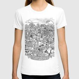 Southside Slopes, Pittsburgh, PA T-shirt