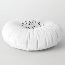 Read Revive Thrive Floor Pillow