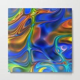 Energy Liquids 6 Metal Print