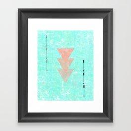 Color Me Aztec  Framed Art Print