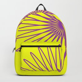 Purple and Yellow Backpack