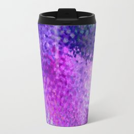Absctract art watercolor art violet lilac minimalist poster Travel Mug