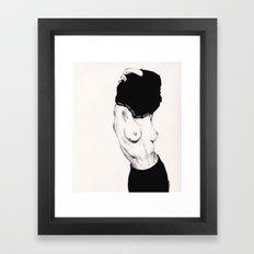 Pull Your Shirt Off Bitch! Framed Art Print
