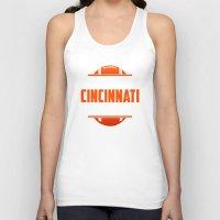 cincinnati Tank Tops featuring Its A Cincinnati Thing by Jacob Tyler FX